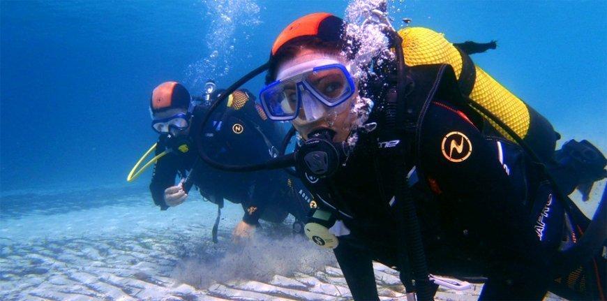Bautismo de buceo en Mallorca