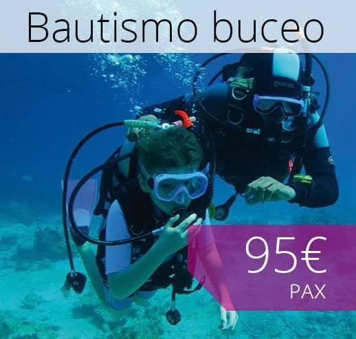 Bautismo Buceo Mallorca