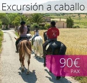 Excursión a caballo Mallorca