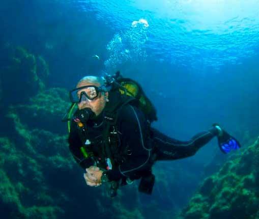 Doble buceo en Mallorca