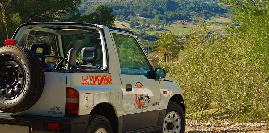Excursion 4x4 Mallorca