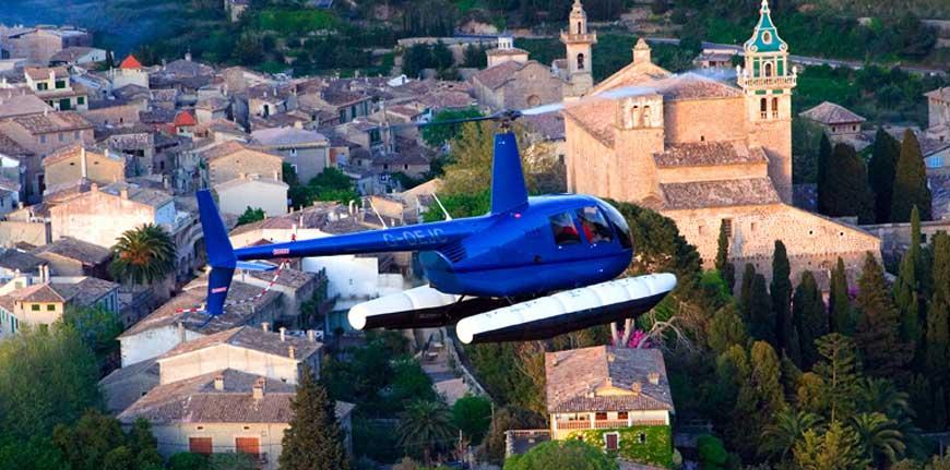 Vuelo en Helicóptero Mallorca