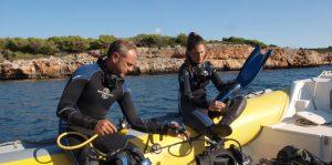 Curso Open Water en Mallorca