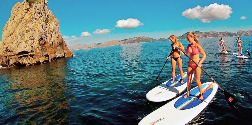 Stand-up-Paddle en Mallorca