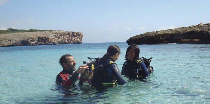 Curso Scuba Diver en Mallorca