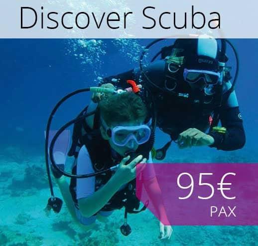 Discover Scuba diving Mallorca