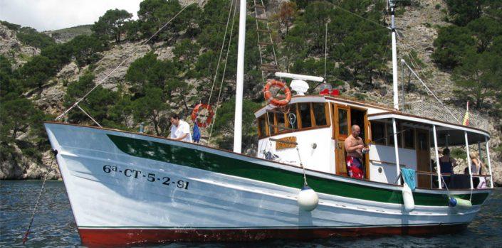 Excursiones en Barco Mallorca