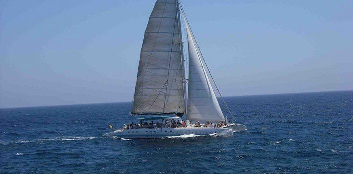 Catamaran in Majorca