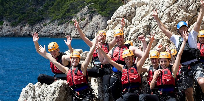 Coasteering in Majorca