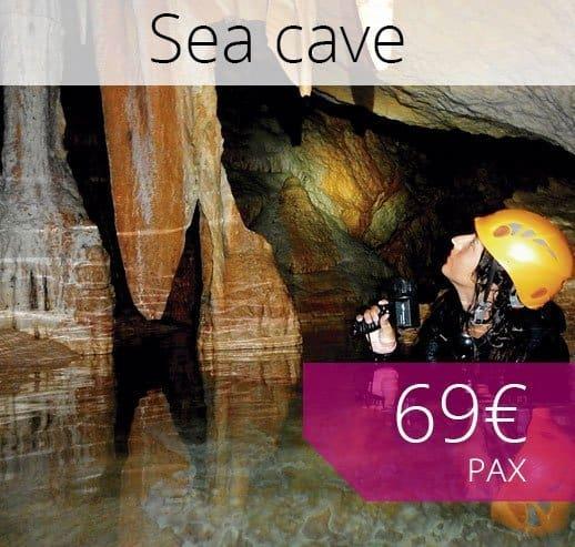 Sea Cave trip in Majorca