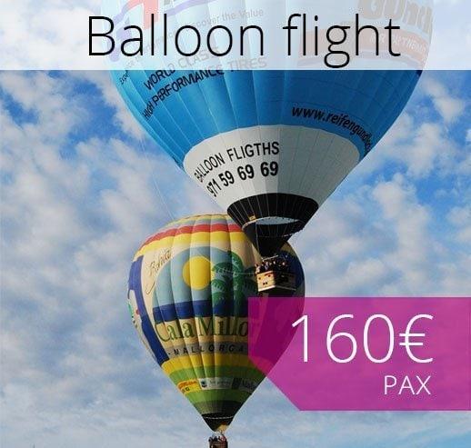 Hot Air Balloon in Majorca booking