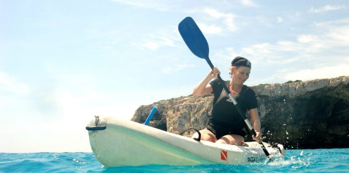 Kayaking in Majorca