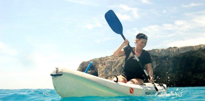 Kayaking in Majorca