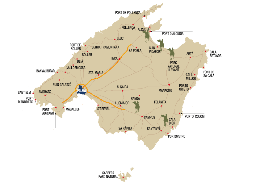 Excursiones a Caballo Mallorca