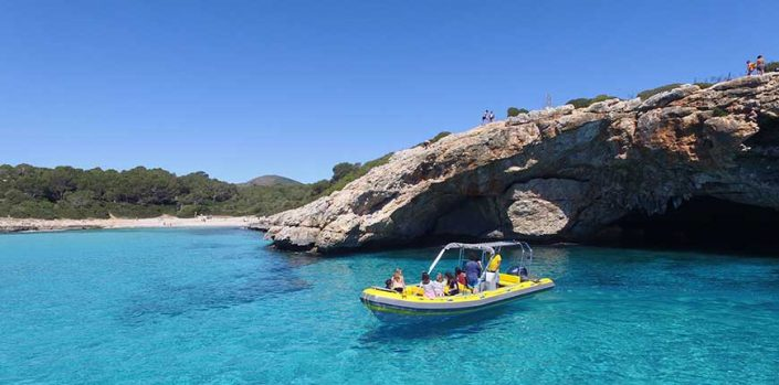 Speed Boat Excursion in Majorca