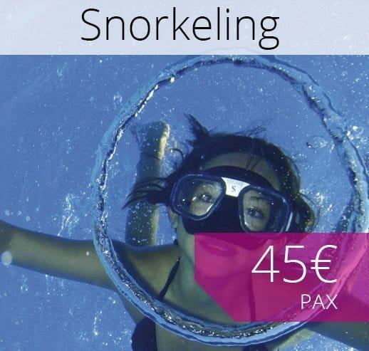 Snokeling in Majorca booking