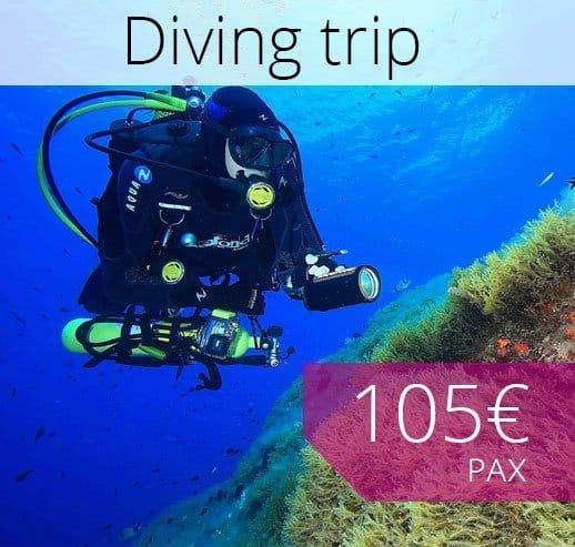 Double dive Porto Cristo Mallorca