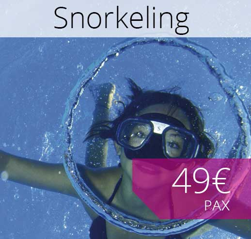 Excursiones Snorkeling en Mallorca