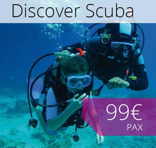 Discover scuba diving in Majorca