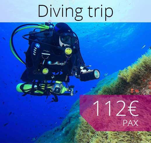 Diving trip in Majorca