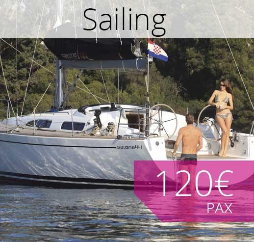 Sailing trip in Majorca